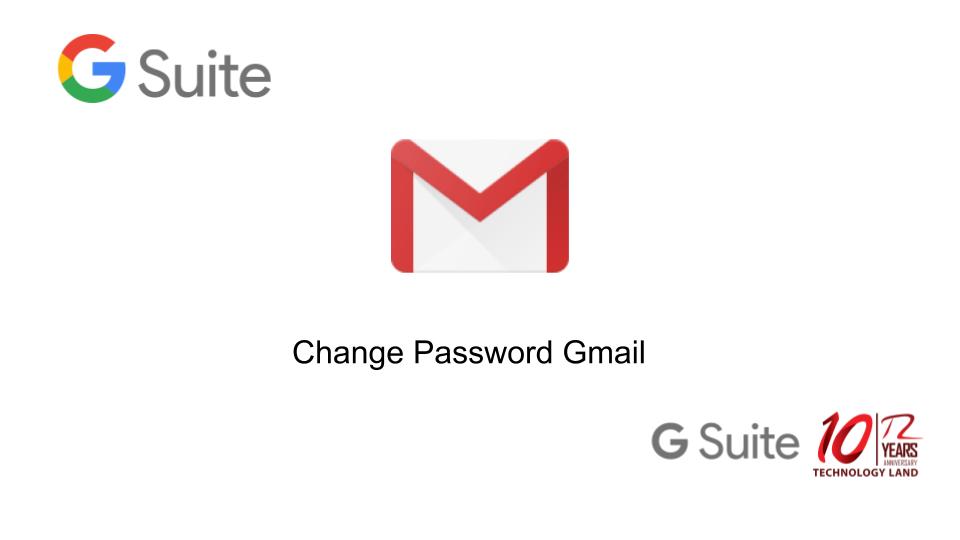 เปลี่ยน password ผ่าน webmail – G SUITE