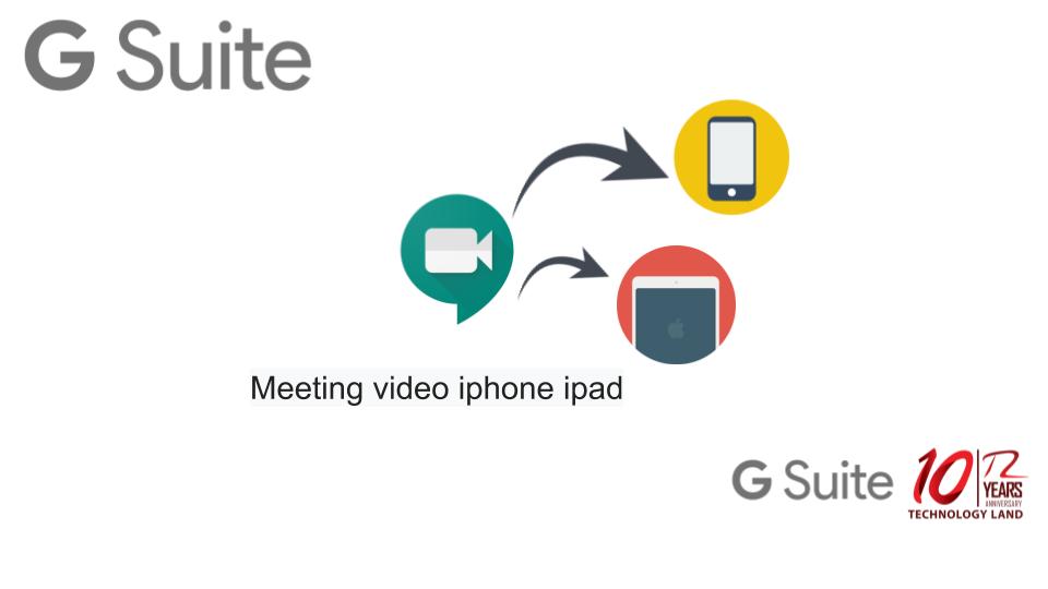 google meet ipad
